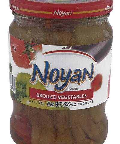 Légumes rotis Noyan bocal 650 grammes
